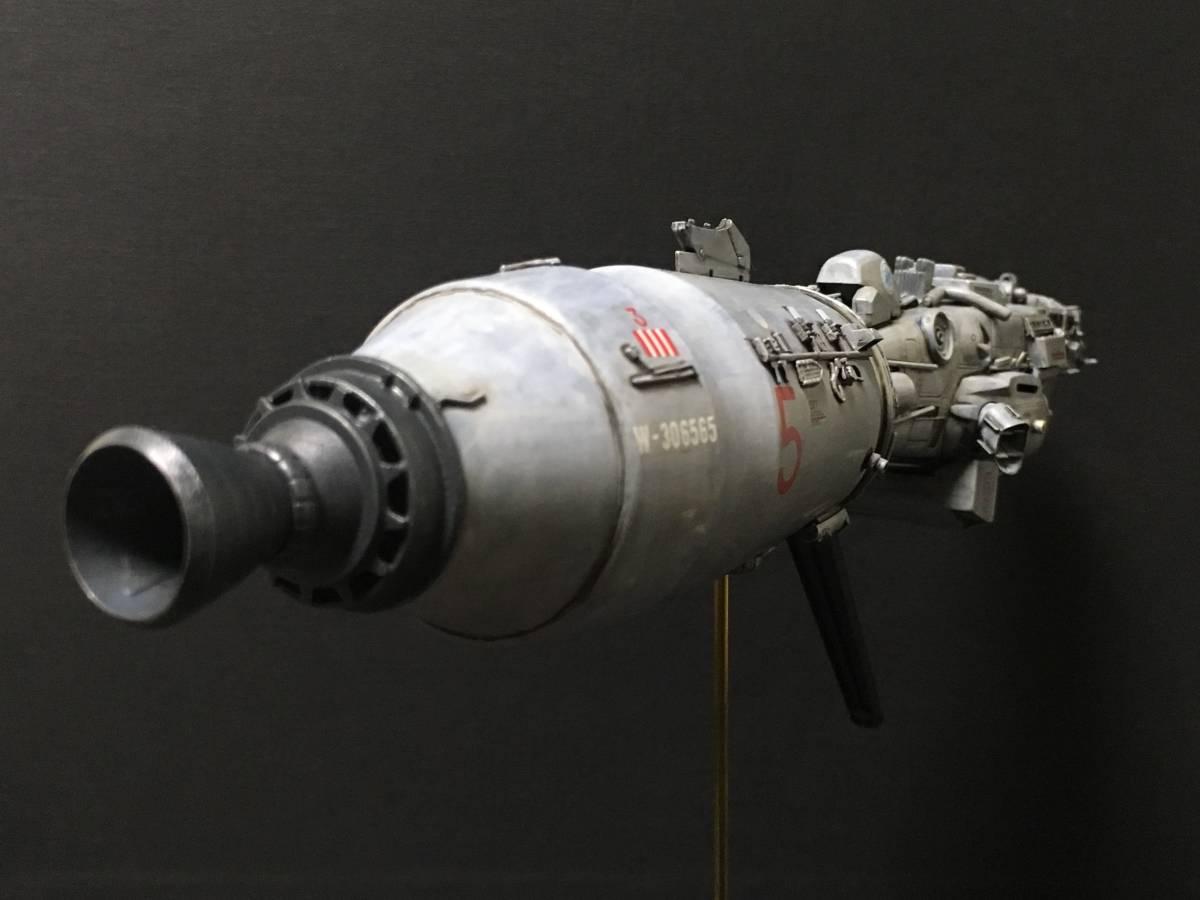 完成品 オリジナル 個人製作 1/144 プラモデル SF 宇宙戦艦 マシーネンクリーガー Ma.K SF3D 銀河英雄伝説 スターウォーズ 艦船_画像4