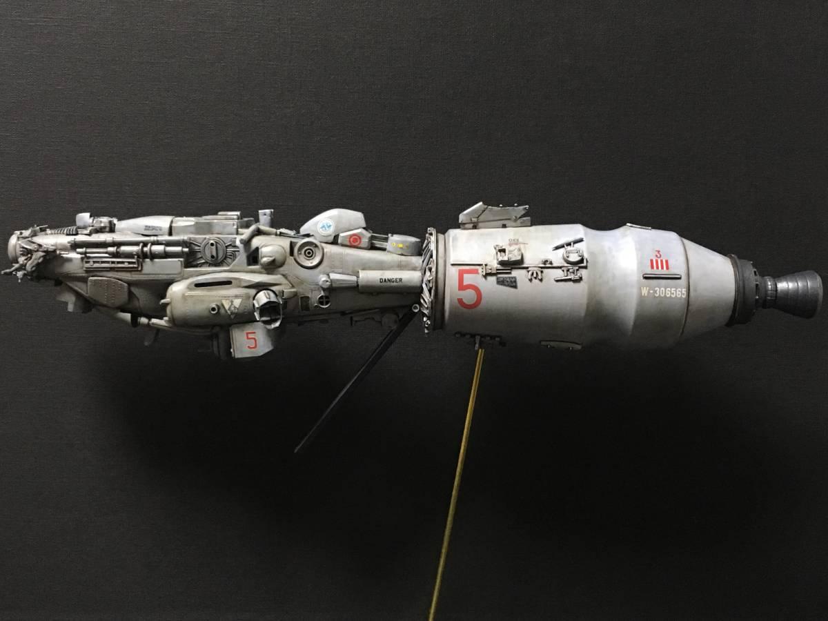 完成品 オリジナル 個人製作 1/144 プラモデル SF 宇宙戦艦 マシーネンクリーガー Ma.K SF3D 銀河英雄伝説 スターウォーズ 艦船_画像5