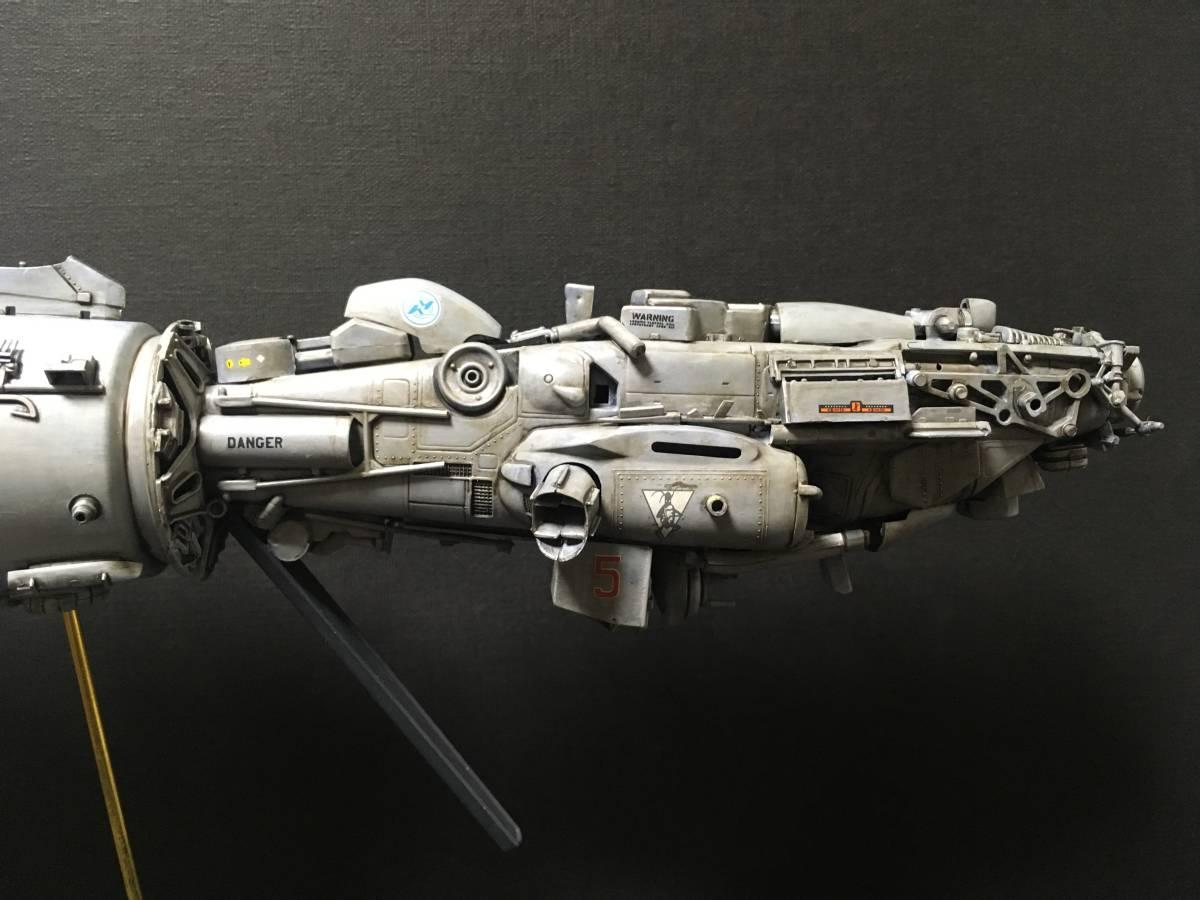 完成品 オリジナル 個人製作 1/144 プラモデル SF 宇宙戦艦 マシーネンクリーガー Ma.K SF3D 銀河英雄伝説 スターウォーズ 艦船_画像8