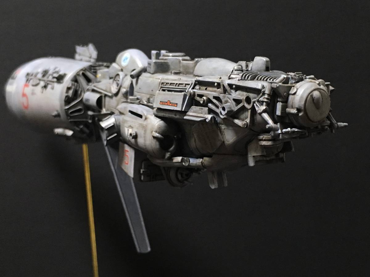 完成品 オリジナル 個人製作 1/144 プラモデル SF 宇宙戦艦 マシーネンクリーガー Ma.K SF3D 銀河英雄伝説 スターウォーズ 艦船