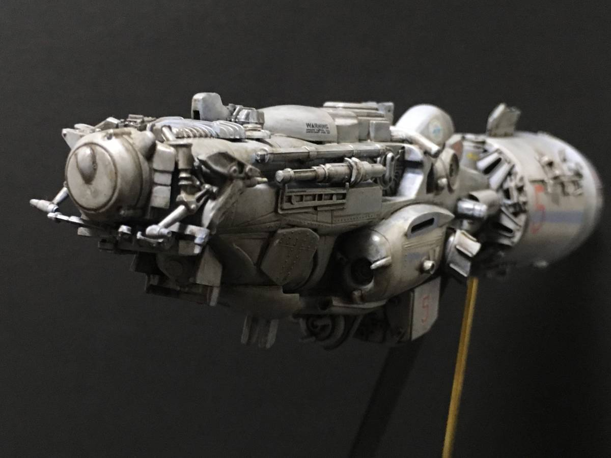 完成品 オリジナル 個人製作 1/144 プラモデル SF 宇宙戦艦 マシーネンクリーガー Ma.K SF3D 銀河英雄伝説 スターウォーズ 艦船_画像2
