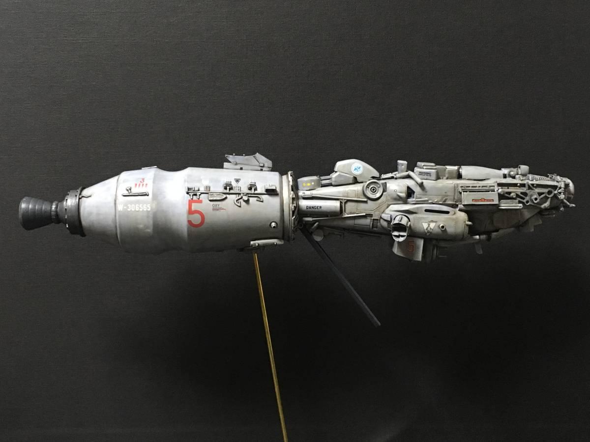 完成品 オリジナル 個人製作 1/144 プラモデル SF 宇宙戦艦 マシーネンクリーガー Ma.K SF3D 銀河英雄伝説 スターウォーズ 艦船_画像6
