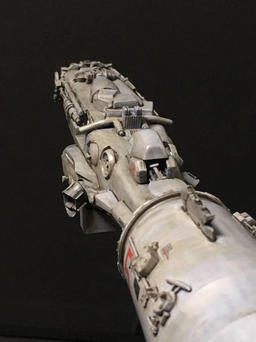 完成品 オリジナル 個人製作 1/144 プラモデル SF 宇宙戦艦 マシーネンクリーガー Ma.K SF3D 銀河英雄伝説 スターウォーズ 艦船_画像3