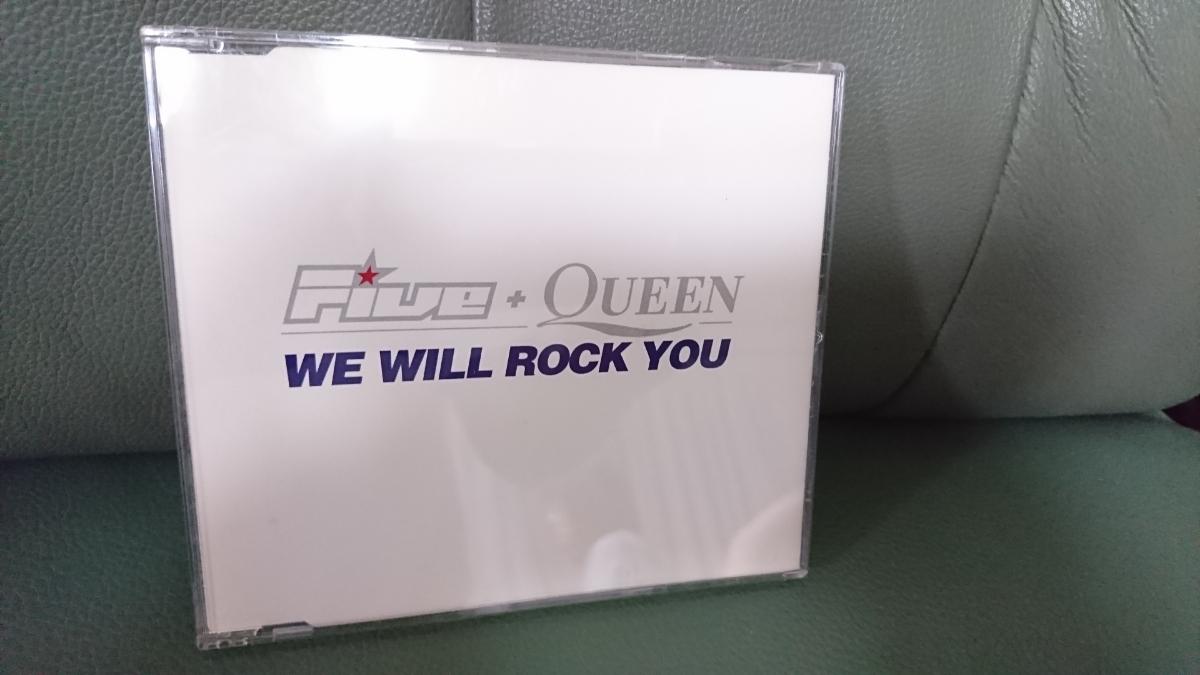 【レア】FIVE + QUEEN / WE WILL ROCK YOU 《シングルCD/ブライアンメイ参加》 クイーン QUEEN_画像1