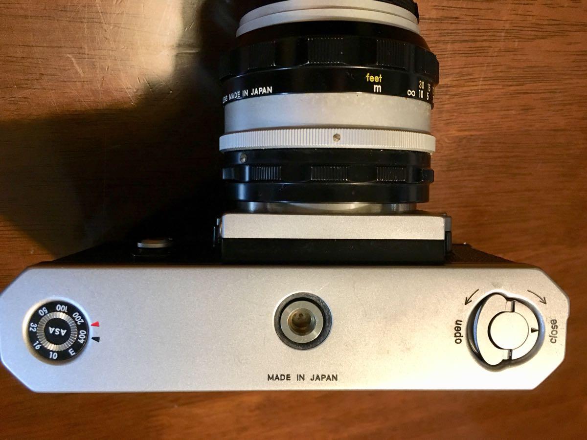 ニコン Nikon F レンズ NIKKOR-S Auto 1:1.14 f=50mm フィルムカメラ 中古 ジャンク_画像7
