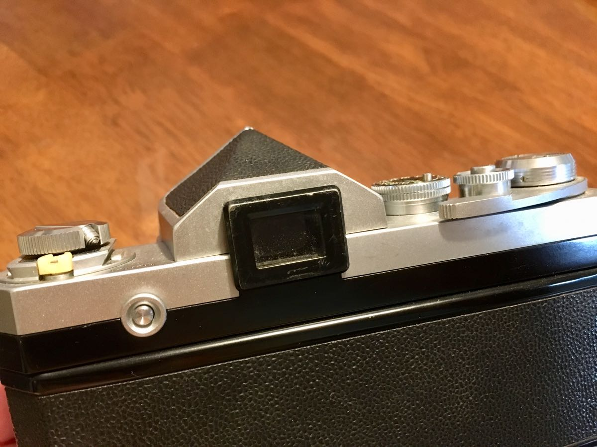 ニコン Nikon F レンズ NIKKOR-S Auto 1:1.14 f=50mm フィルムカメラ 中古 ジャンク_画像10