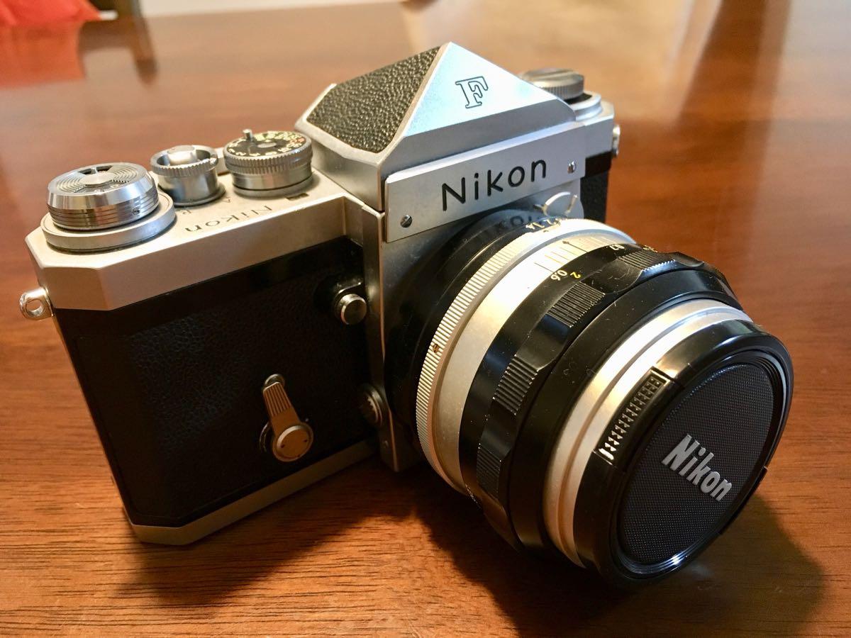 ニコン Nikon F レンズ NIKKOR-S Auto 1:1.14 f=50mm フィルムカメラ 中古 ジャンク