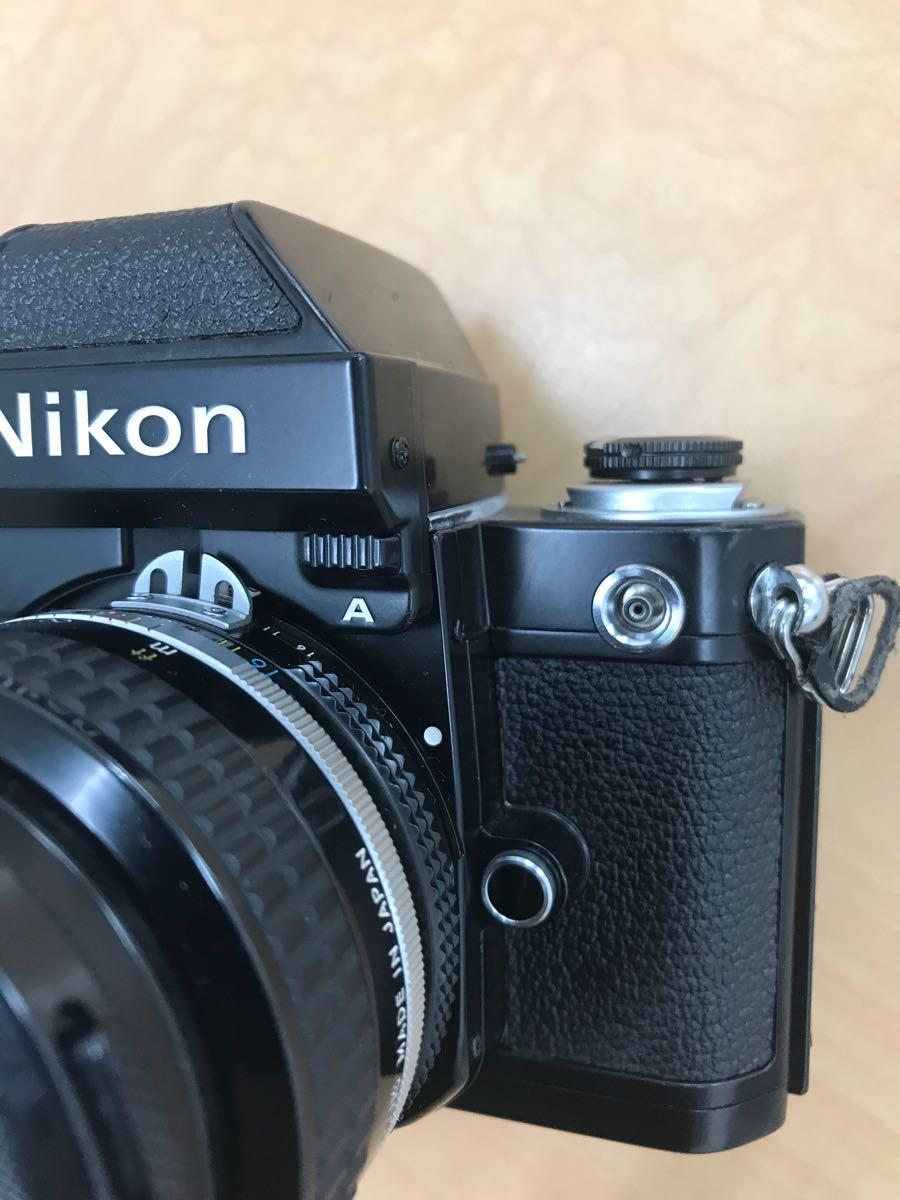 ニコン Nikon F2 Photomic A 中古品 (ジャンク品)レンズ 2本_画像10