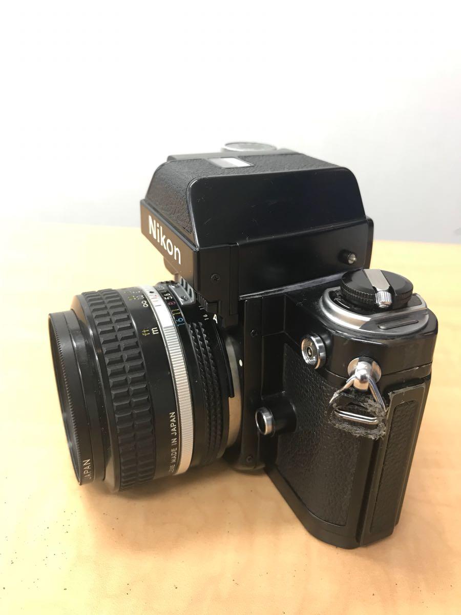 ニコン Nikon F2 Photomic A 中古品 (ジャンク品)レンズ 2本_画像7