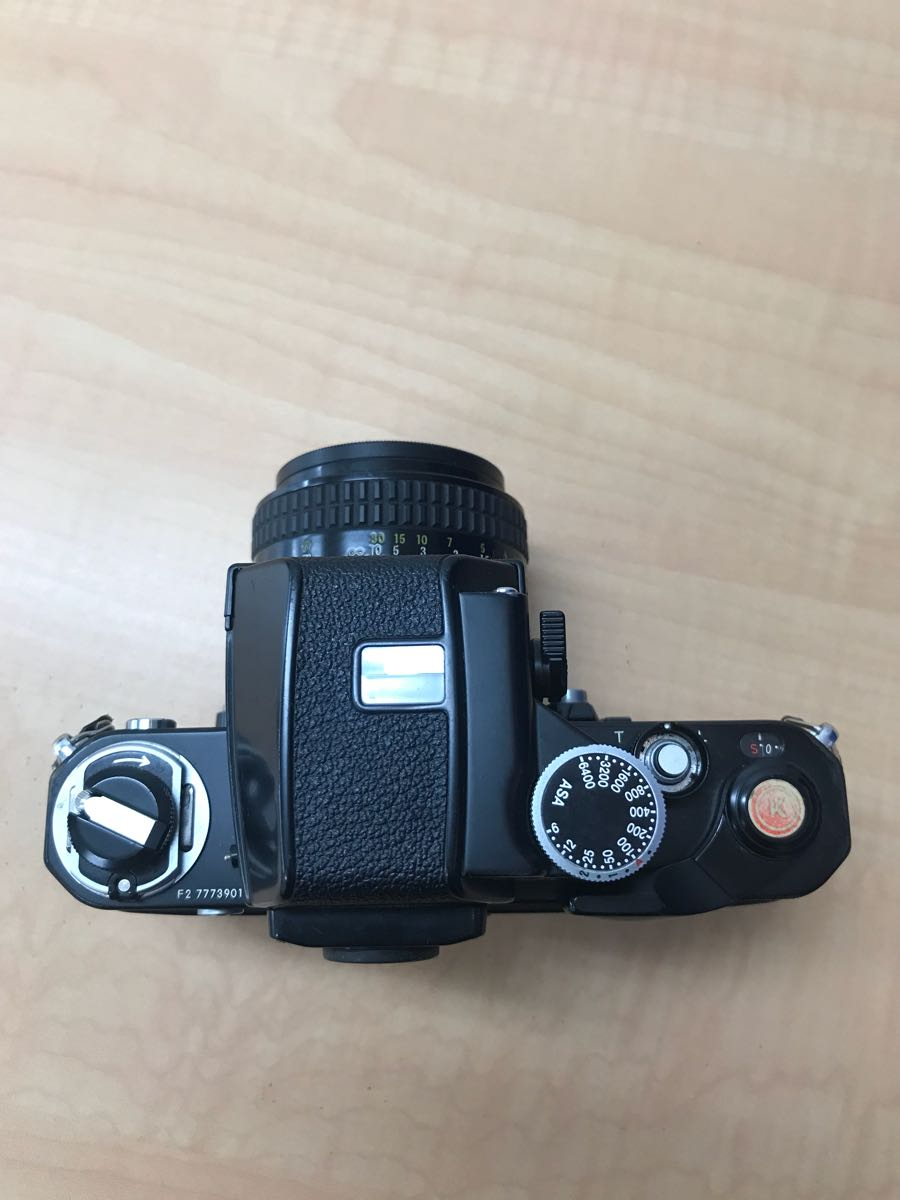 ニコン Nikon F2 Photomic A 中古品 (ジャンク品)レンズ 2本_画像8