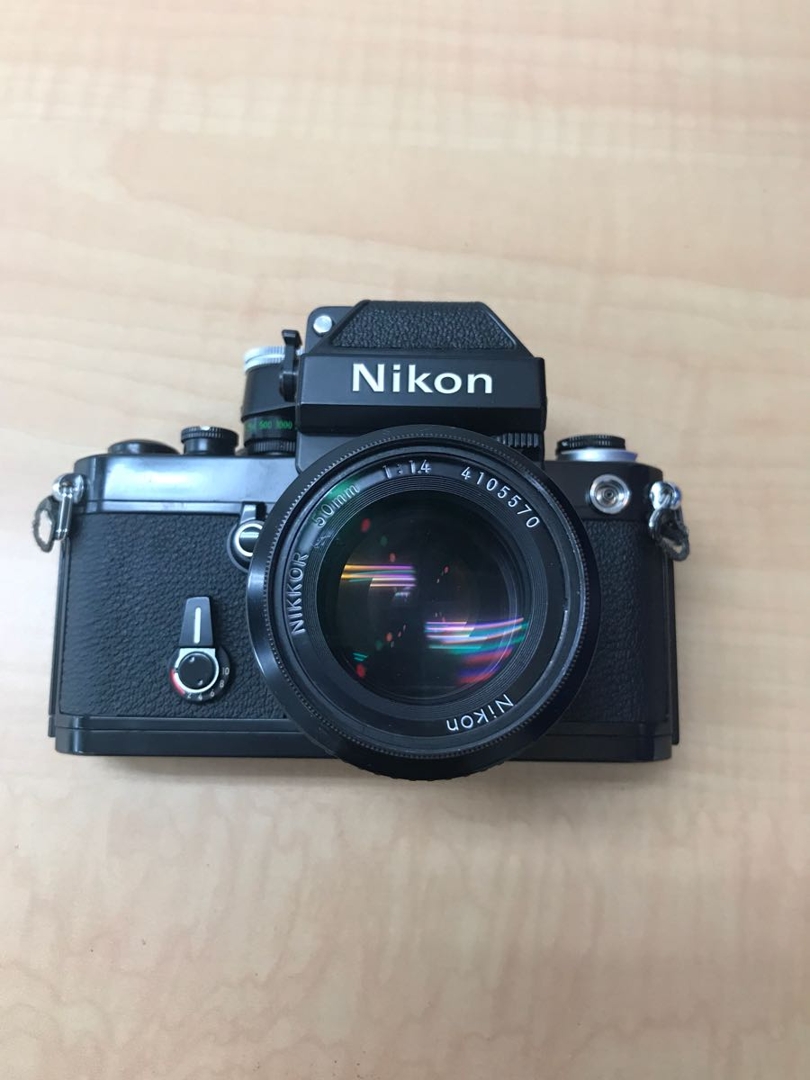 ニコン Nikon F2 Photomic A 中古品 (ジャンク品)レンズ 2本_画像3