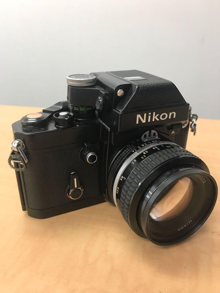 ニコン Nikon F2 Photomic A 中古品 (ジャンク品)レンズ 2本_画像4