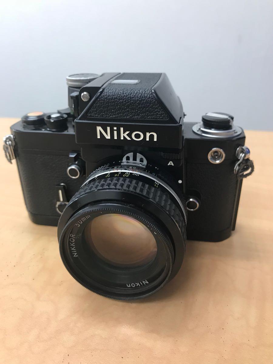 ニコン Nikon F2 Photomic A 中古品 (ジャンク品)レンズ 2本_画像6