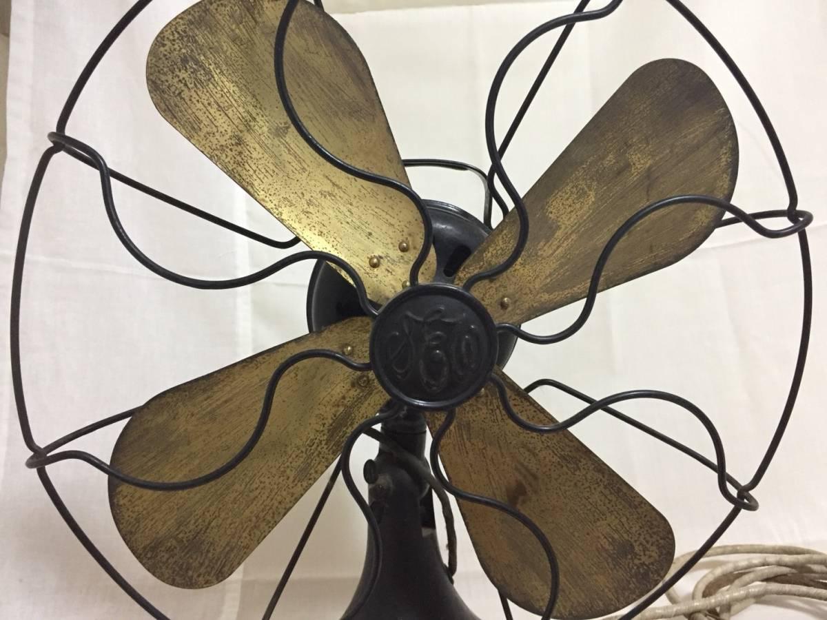 【昭和レトロ】 東京芝浦製作所製扇風機 昭和レトロ 扇風機 【送料無料】_画像3