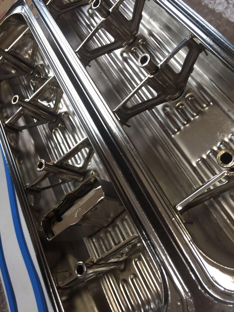 GM LT-1 バルブカバー タペットカバー クローム ボルトセット キャデラック ブロアム カプリス インパラ_画像4