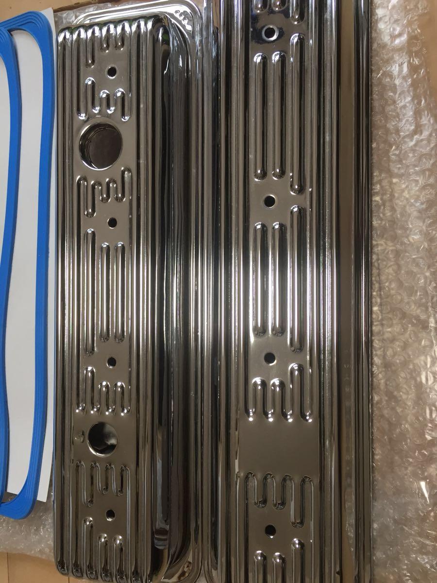GM LT-1 バルブカバー タペットカバー クローム ボルトセット キャデラック ブロアム カプリス インパラ_画像2