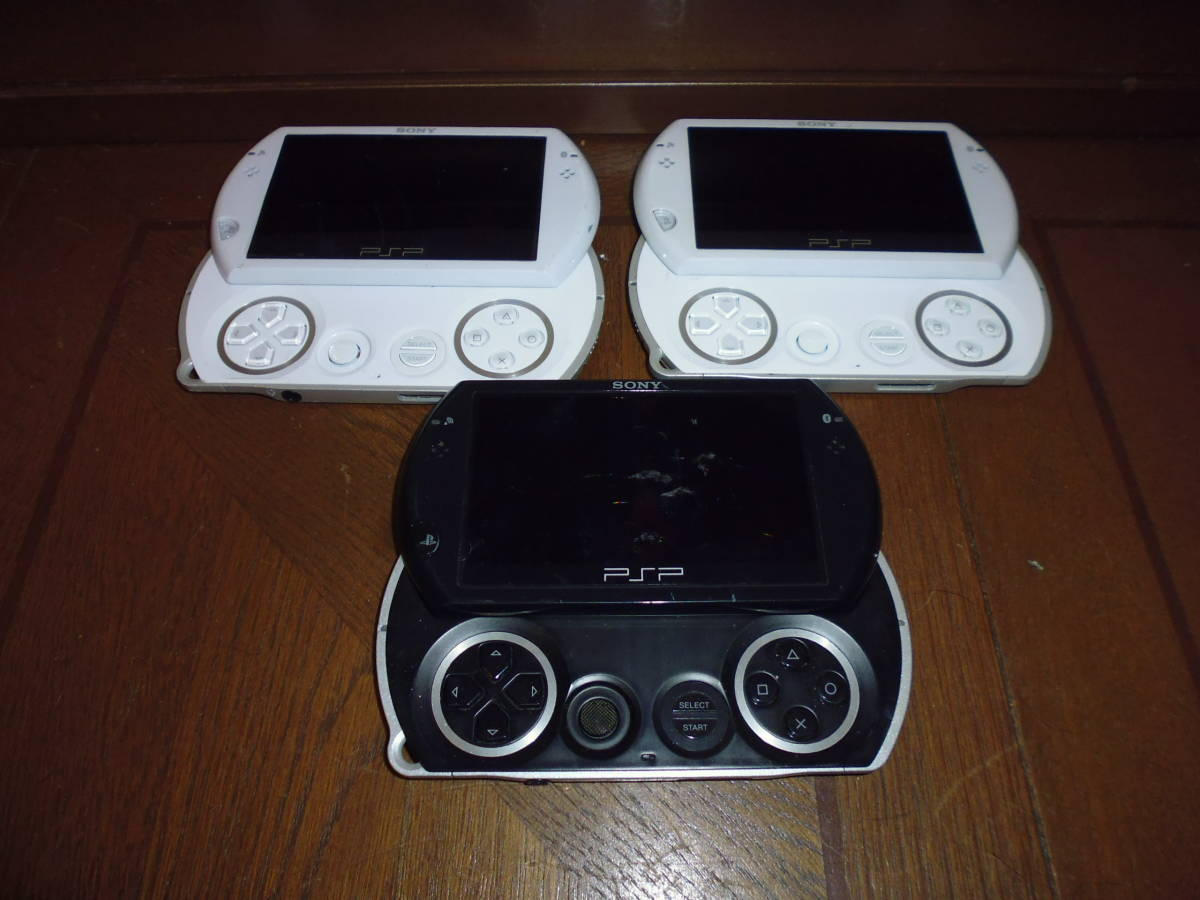 SONY PSPgo PSP-N1000 本体のみ ジャンク品 3台_画像2