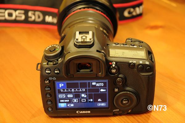 3日レンタル■ キヤノン EOS 5D Mark III+EF100-400mm F4.5-5.6L IS II USMレンズセット 3日レンタル 7,650円_画像3