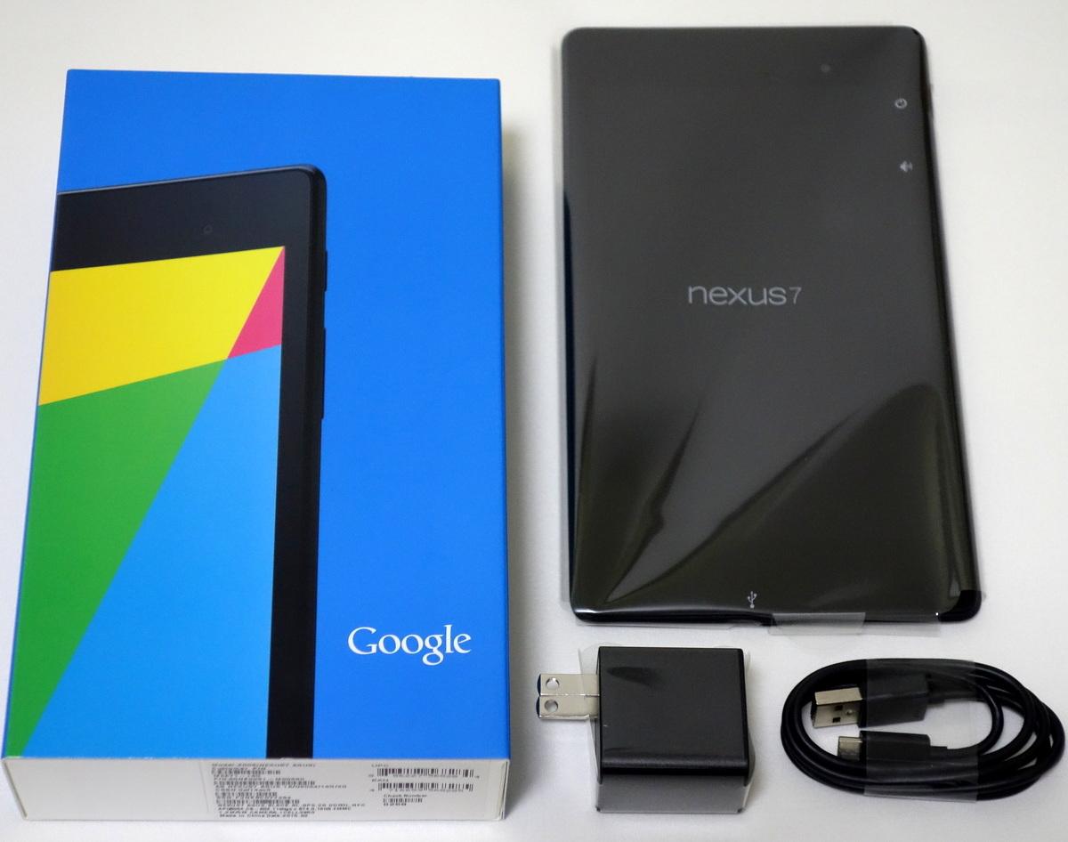 ASUS Google Nexus7 (2013) Wi-Fi Android 6.0 16GB ME571-16G 7インチ Full HD 元箱付属品あり