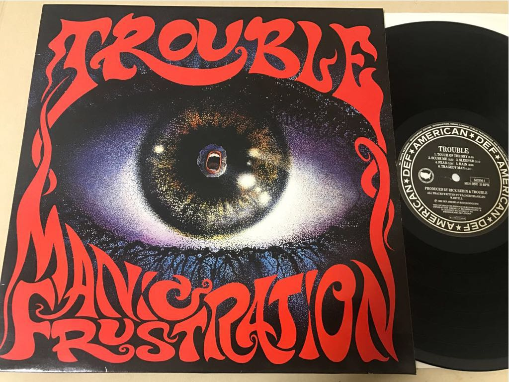 LP◯TROUBLE MANIC FRUSTRATION[Def American/1992年]