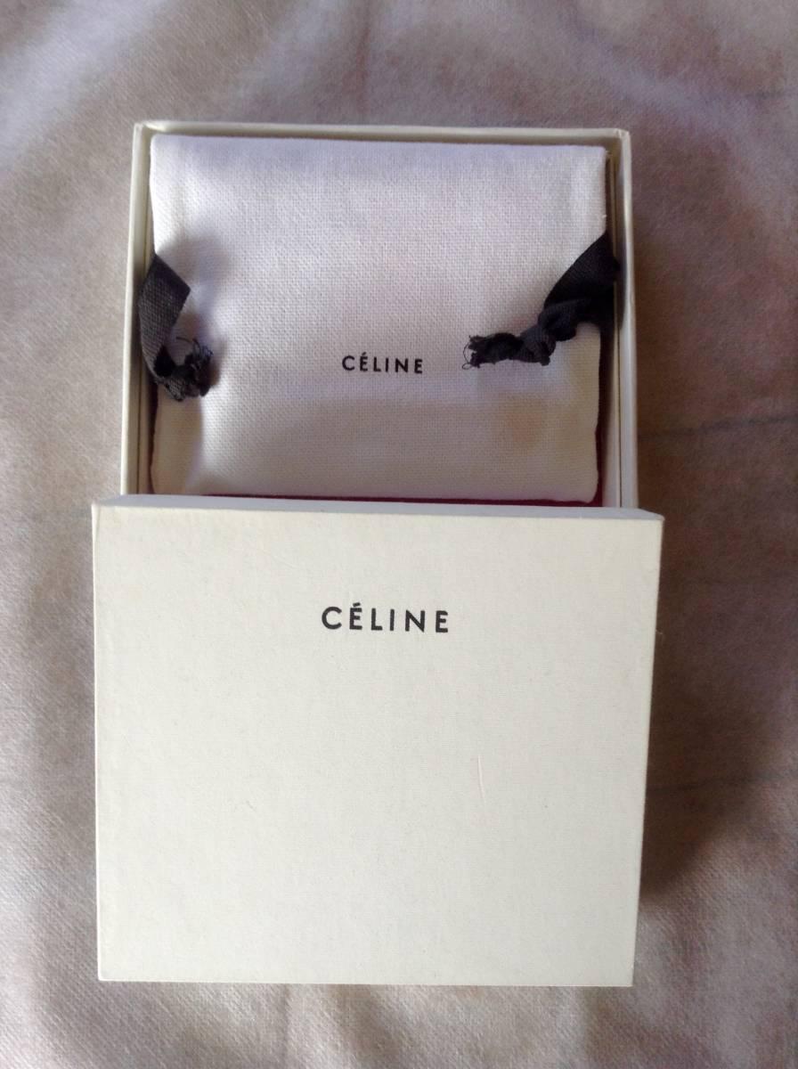 【セリーヌ】未使用・超美品・バイカラーのカードケース_画像4