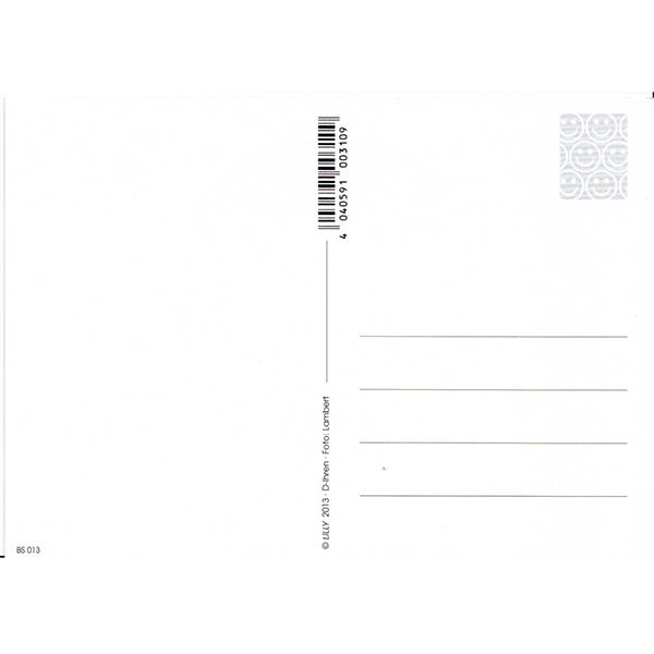 ★【新品】ドイツ発「flower of life/フラワーオブライフ」ポストカード /レッド ファイヤー ×ゴールド (spc003-5) 絵葉書 神聖幾何学模様_画像2