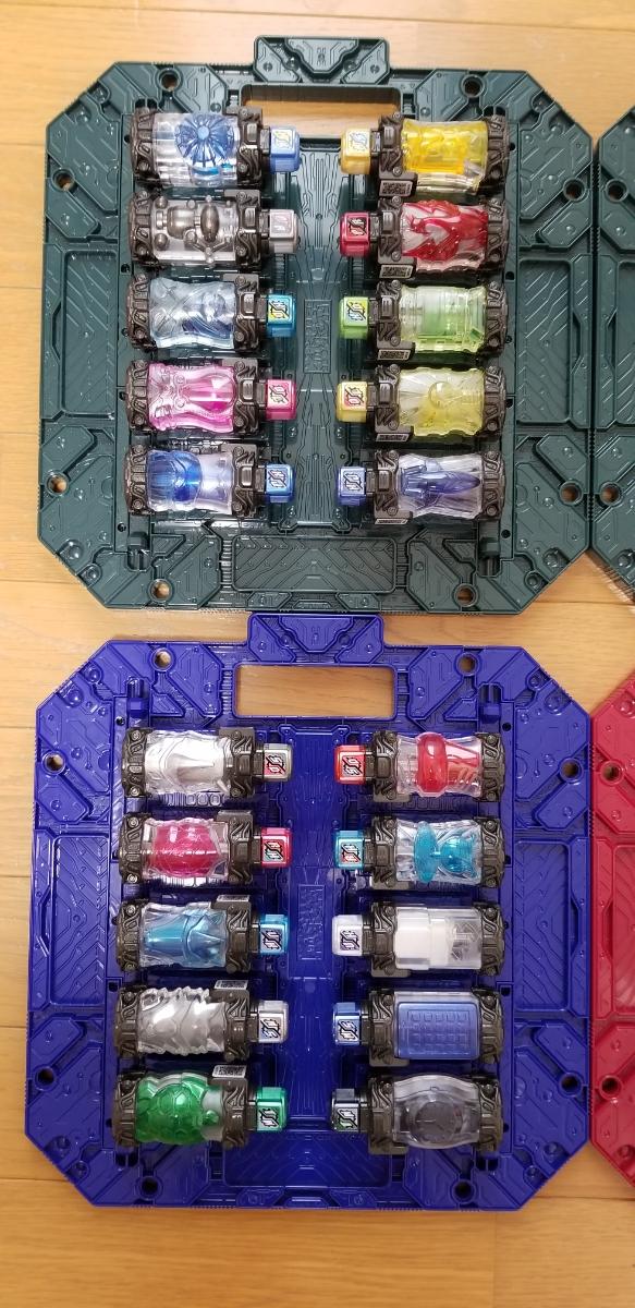 ☆新品同様☆ 仮面ライダービルド DXフルボトル39本セット DXパンドラボックス4枚セット_画像2