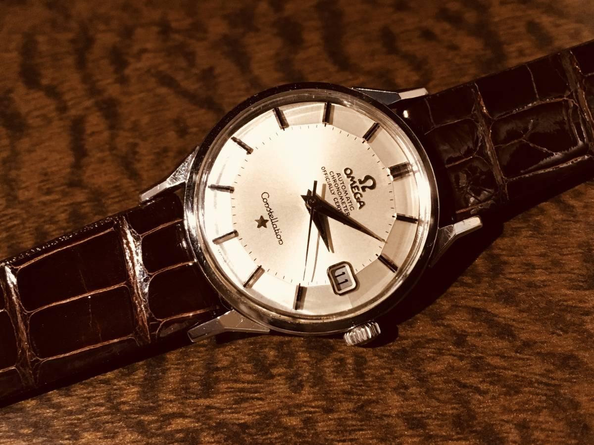 オメガ コンステレーション/ 12角 2年保証付き アンティーク時計