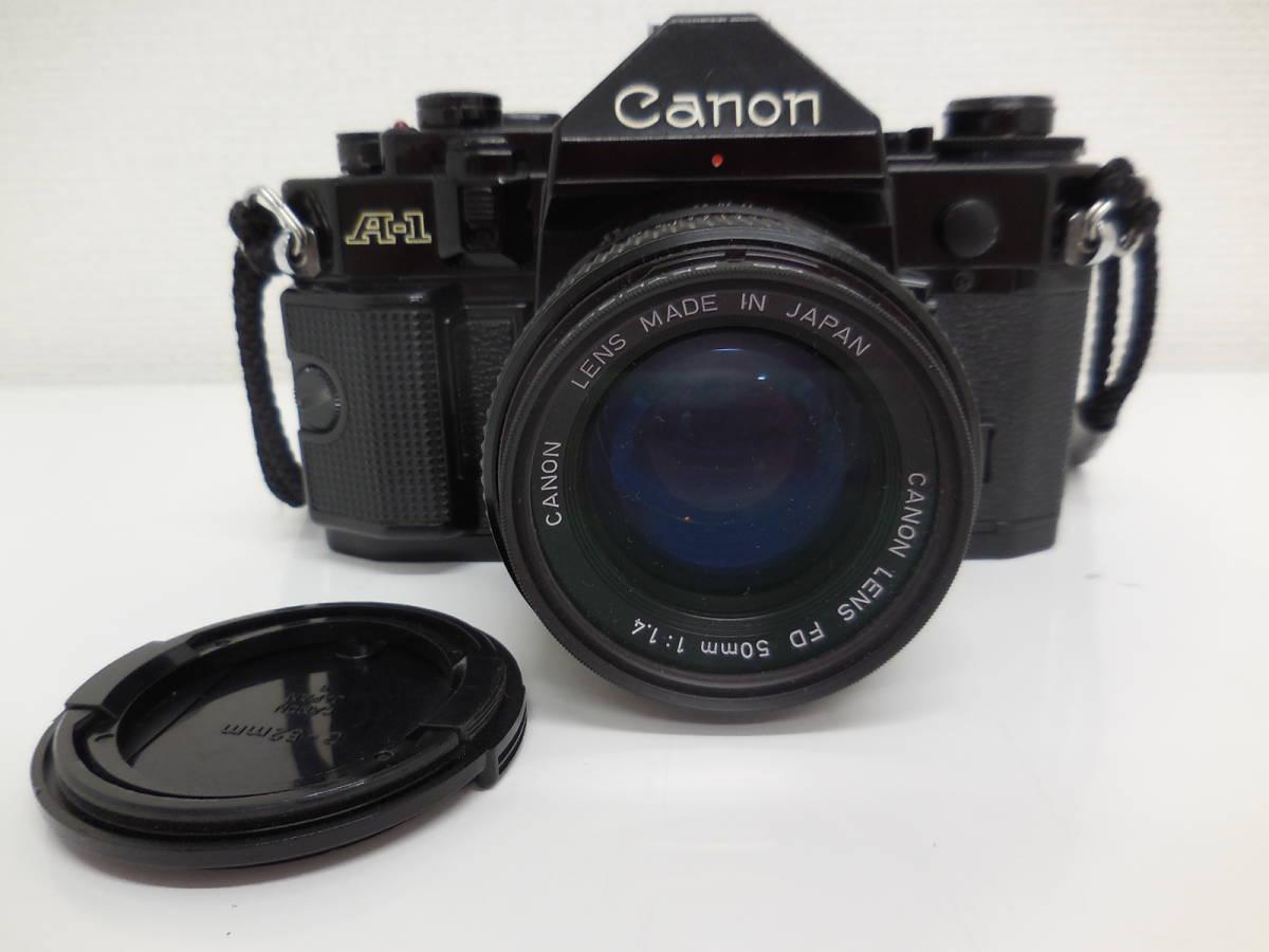 Canon A-1/LENS 50mm 1:1.4 動作未確認 ジャンク_画像3