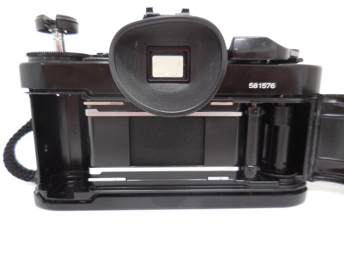 Canon A-1/LENS 50mm 1:1.4 動作未確認 ジャンク_画像4