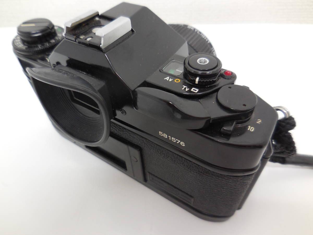 Canon A-1/LENS 50mm 1:1.4 動作未確認 ジャンク_画像5