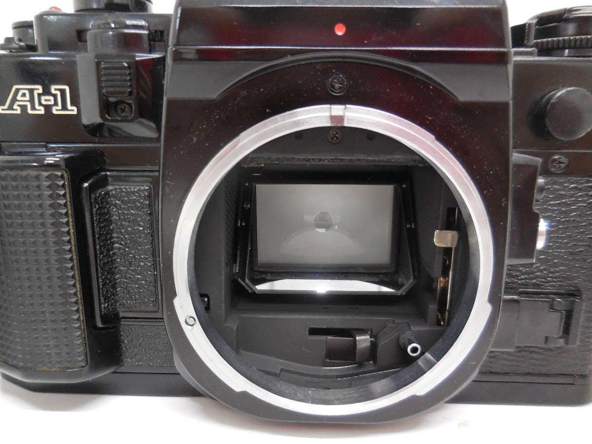 Canon A-1/LENS 50mm 1:1.4 動作未確認 ジャンク_画像7