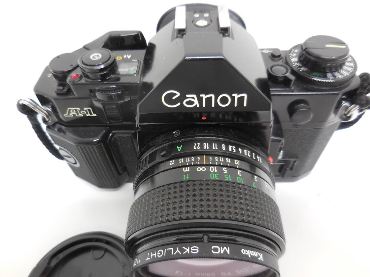 Canon A-1/LENS 50mm 1:1.4 動作未確認 ジャンク_画像8