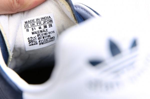 レア サファリ掲載品 エディフィス 別注 スタンスミス ネイビー スエード レザー 28cm us10 adidas アディダス_画像7