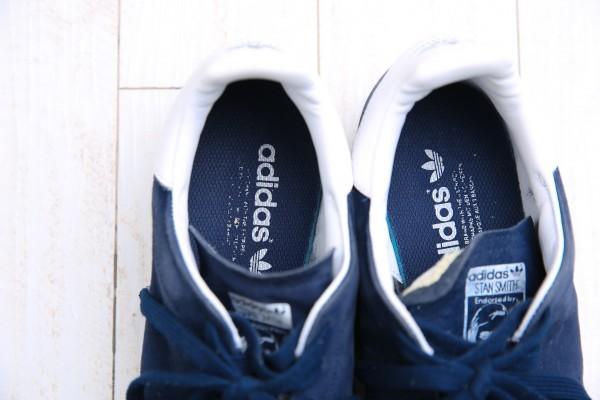 レア サファリ掲載品 エディフィス 別注 スタンスミス ネイビー スエード レザー 28cm us10 adidas アディダス_画像5