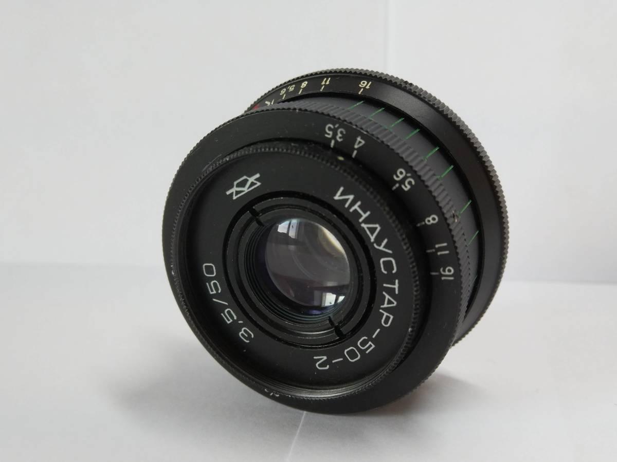 新品!M39 インダスター50-2 Industar 50mm TESSAR M39 KMZ #885B_画像4