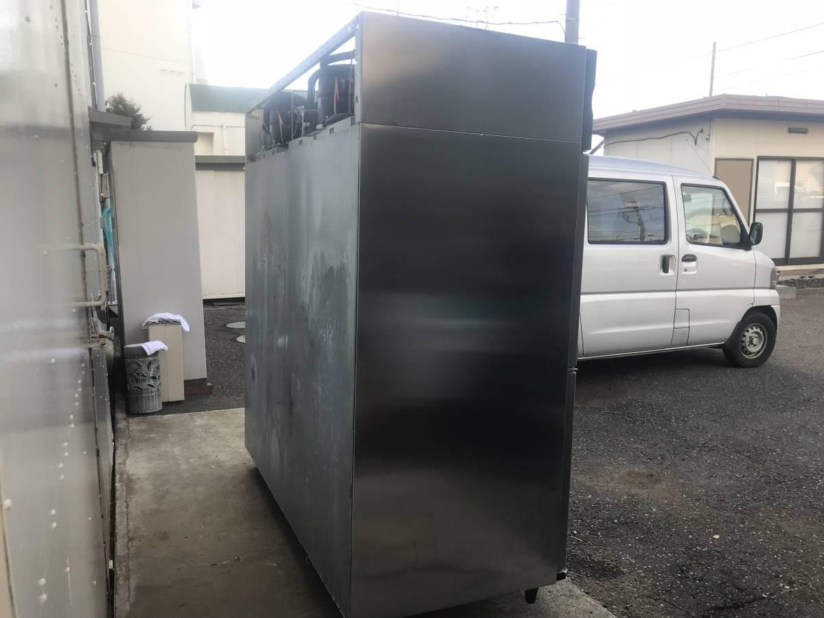 1484)HOSHIZAKI 業務用冷蔵庫(冷凍室付き) ホシザキ HCF-180CZF3-ML 6ドア 4ドア恒温高湿(ワイドスルー)、2ドア冷凍タイプ _画像3