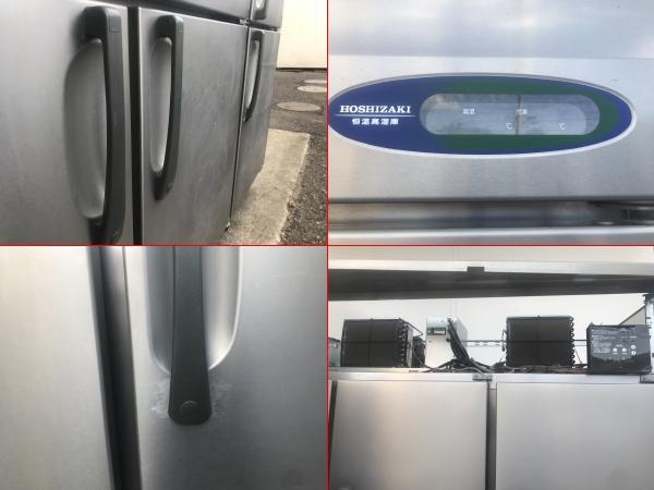1484)HOSHIZAKI 業務用冷蔵庫(冷凍室付き) ホシザキ HCF-180CZF3-ML 6ドア 4ドア恒温高湿(ワイドスルー)、2ドア冷凍タイプ _画像8