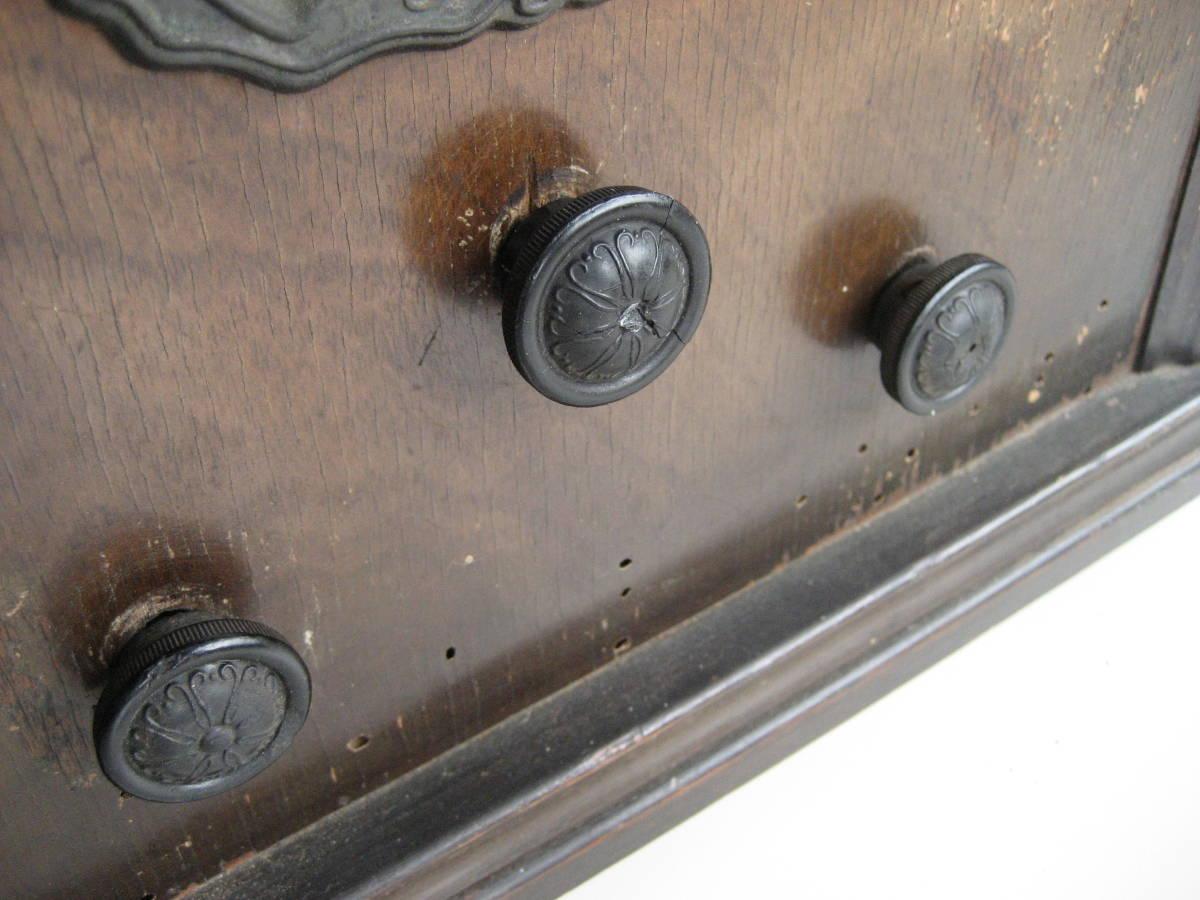 古い 真空管ラジオ 骨董品 ジャンク品 部品取り_画像7