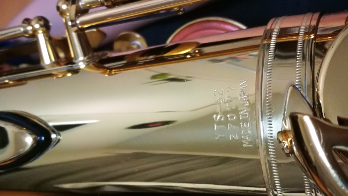 ヤマハ テナーサックス YTS-62 bam ハードケース付き_画像2