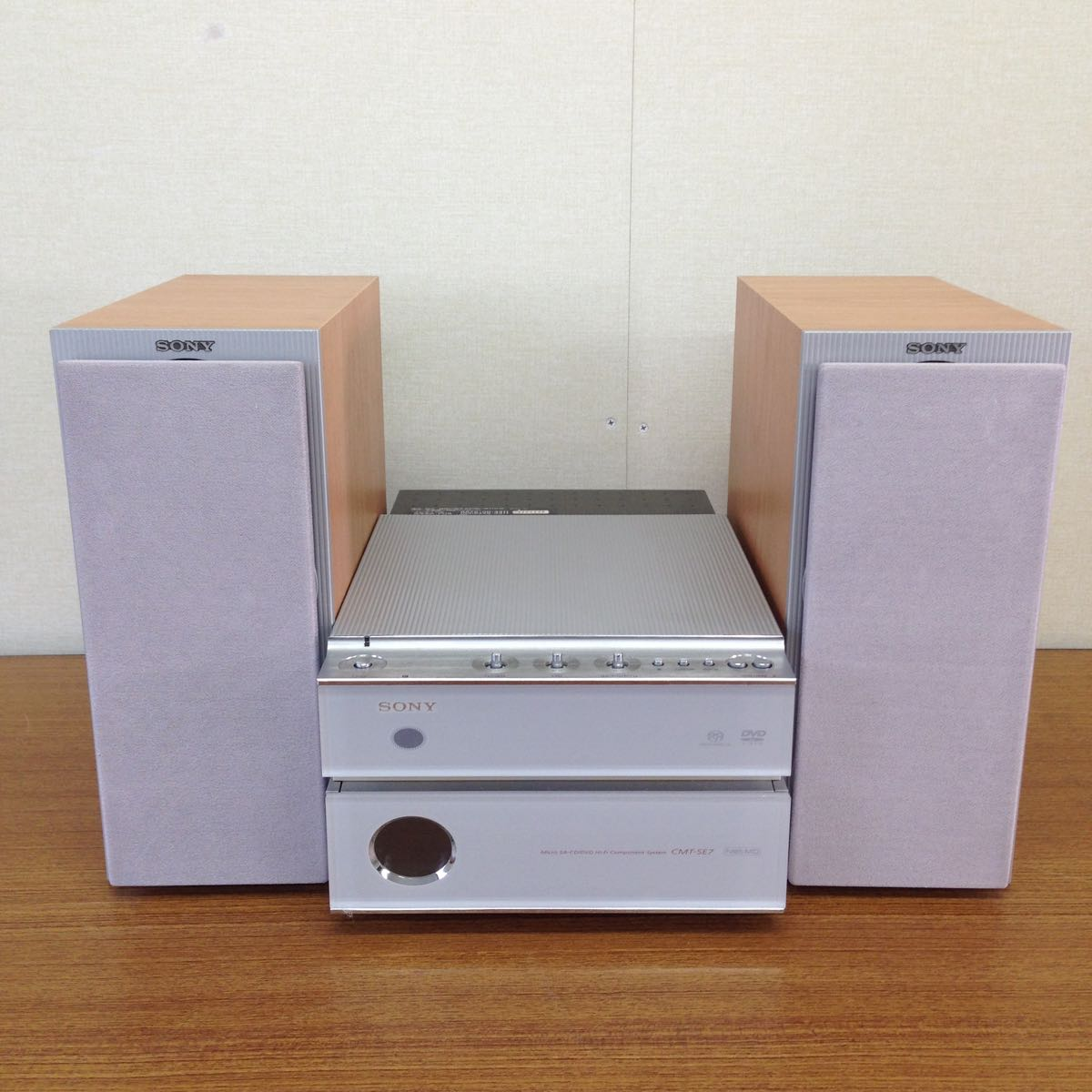sony cmt se7 super audio cd dvd md player wyy02a real yahoo auction salling sony cmt se7 super audio cd dvd md