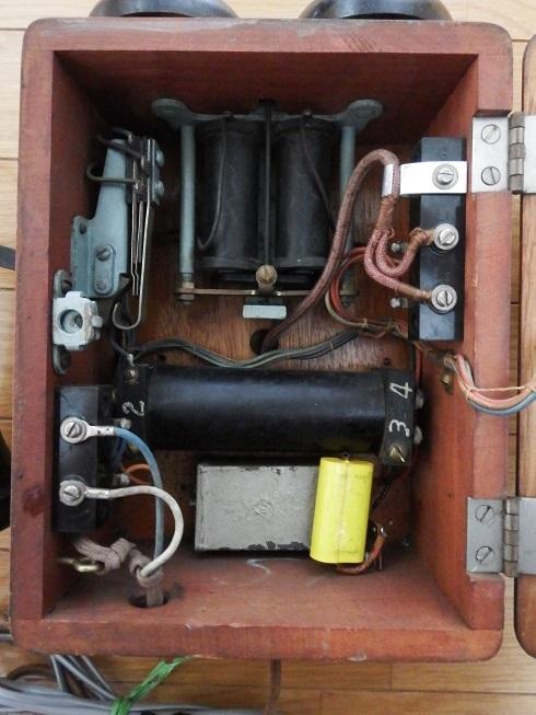 23号自動式電話機(昭和29年10月佐賀工作工業製・動作品)_画像6