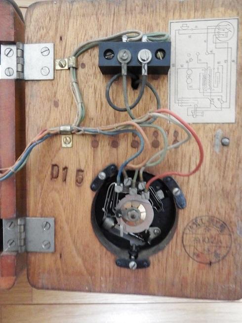 23号自動式電話機(昭和29年10月佐賀工作工業製・動作品)_画像7