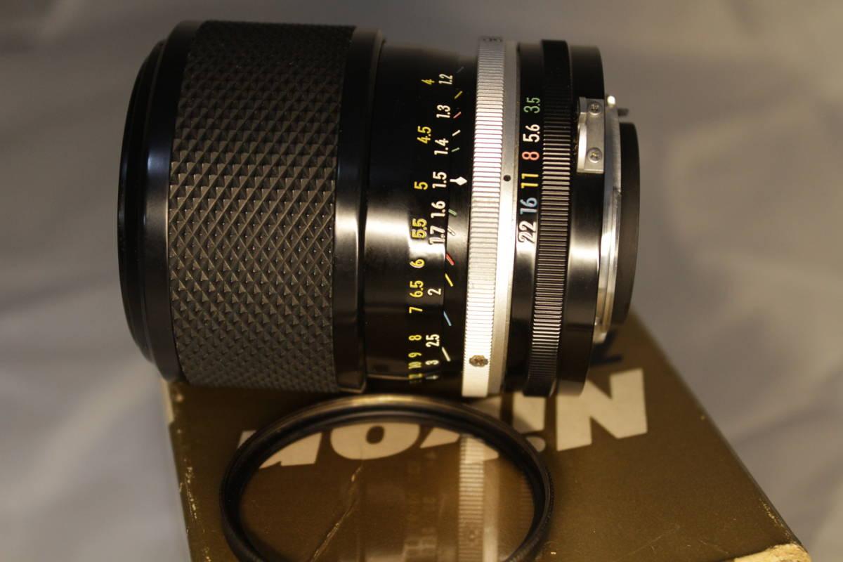 ☆★☆中古美品 Nikon Zoom Nikkor Auto 43-86mm f/1:3.5 プロテクトフィルター レンズ収納ケース 元箱付き☆★☆