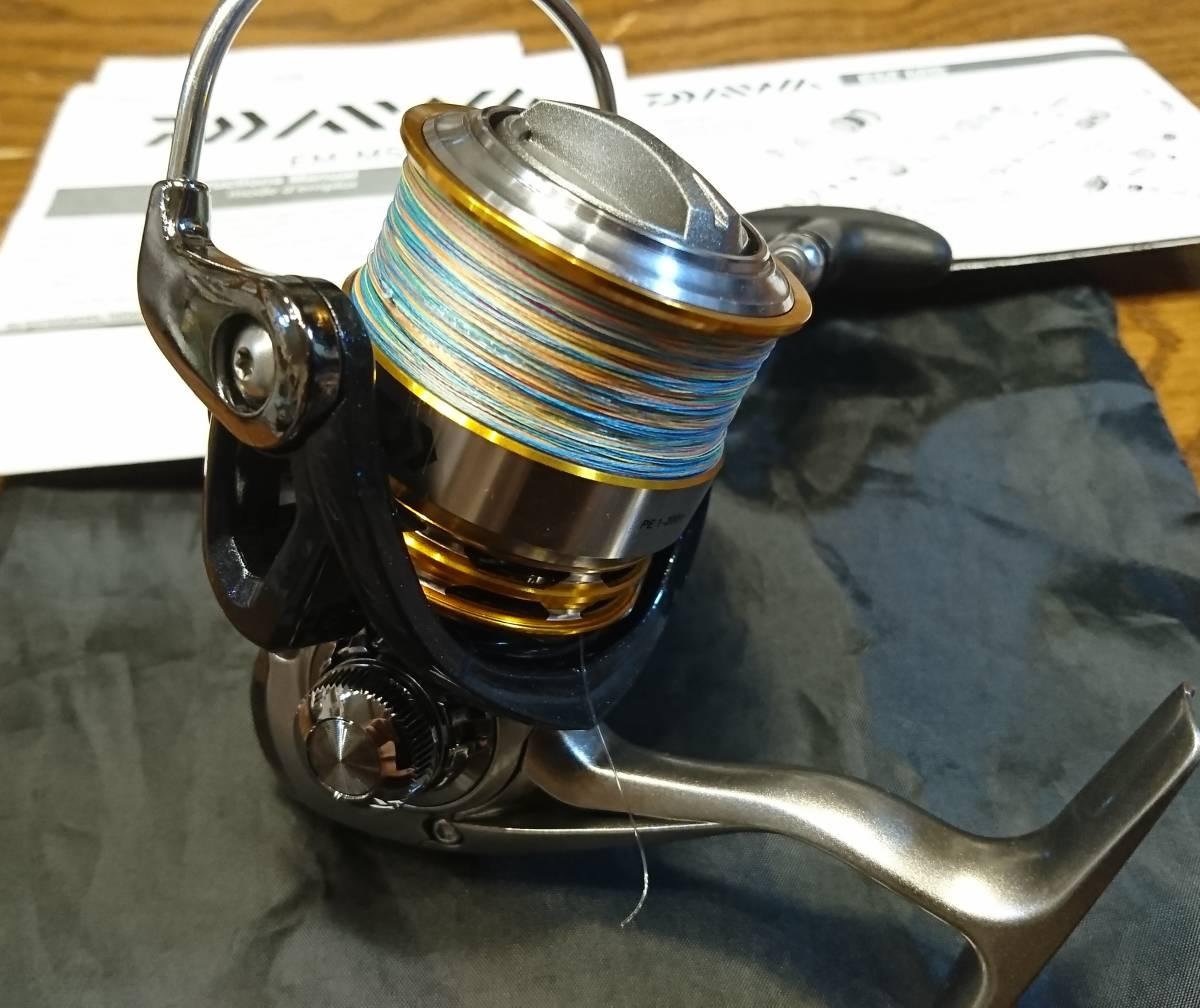 DAIWAダイワEM MS2510PE-H 淡水で1度だけ使用しました。 極美品!_画像2