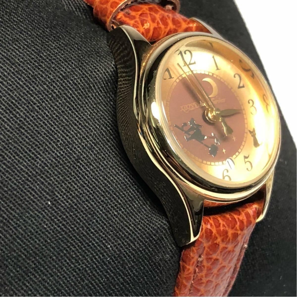 魔女の宅急便 腕時計 リストウォッチ キキ ジジ ジブリ_画像4