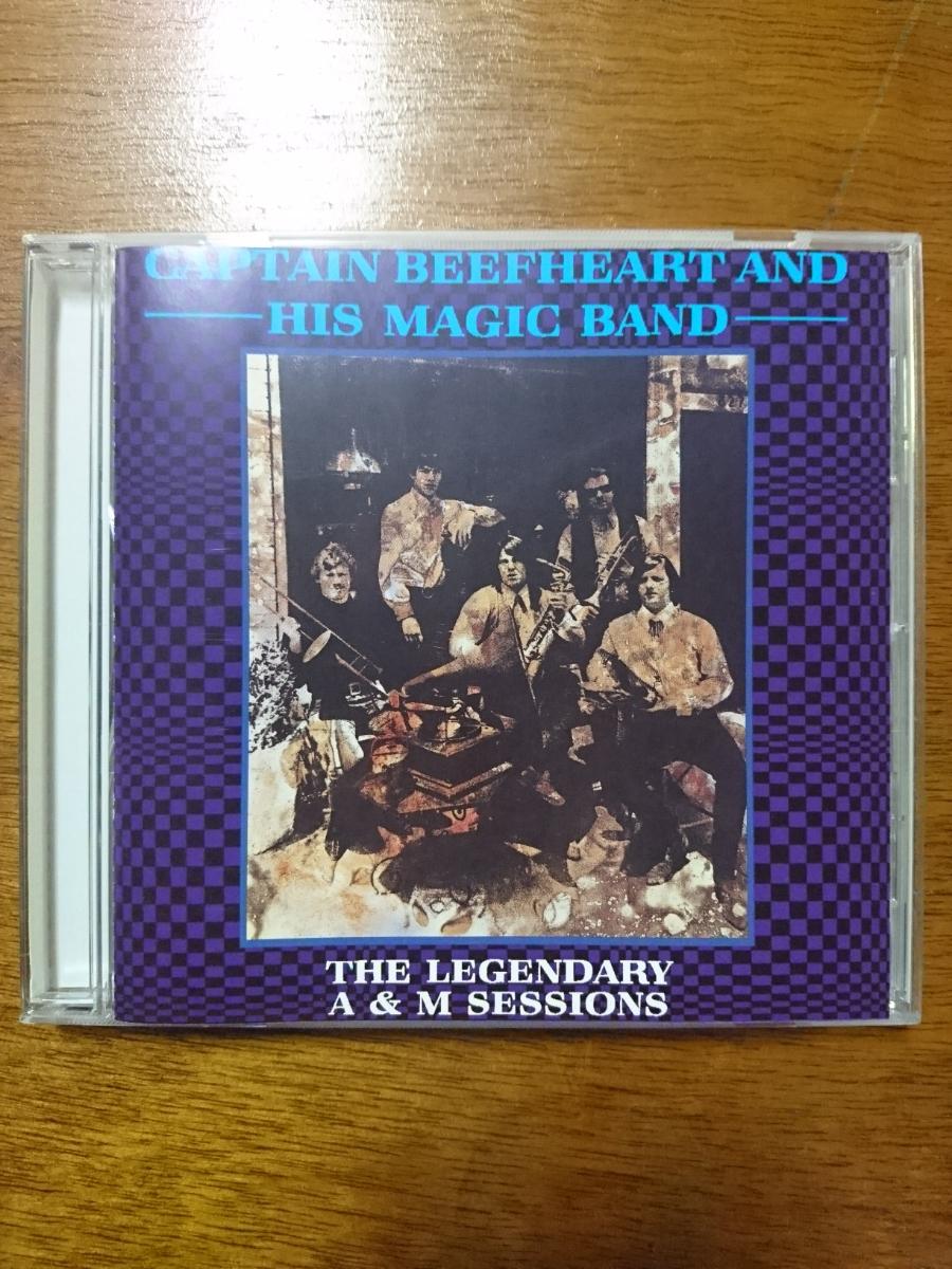 送料無料 中古CD 輸入盤 captain beefheart and his magic band the legendary a&m sessions キャプテン ビーフハート