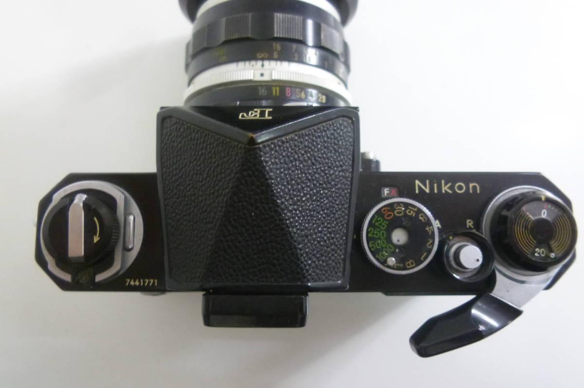 1円~ ニコン NIKON F NIKOR-S Auto 1:2.8 f=35㎜_画像3
