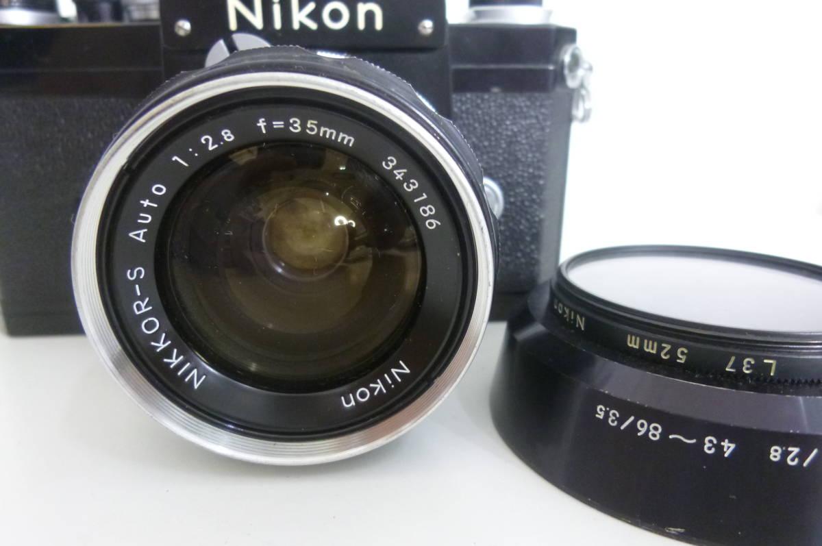 1円~ ニコン NIKON F NIKOR-S Auto 1:2.8 f=35㎜_画像6