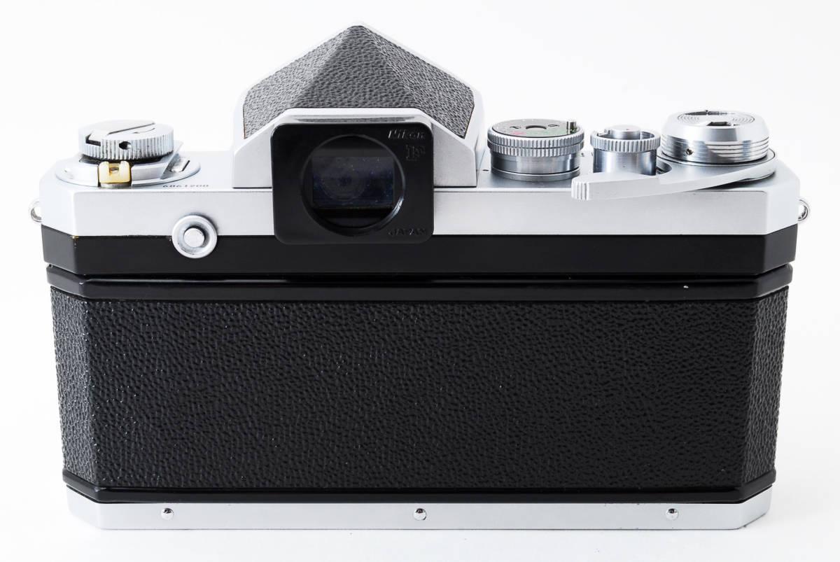 ~メカニカルニコンの名機~Nikon ニコン F アイレベル シルバー 前期モデル_画像5